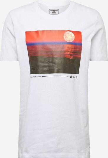 JACK & JONES Shirt 'SCAPE ' in weiß, Produktansicht