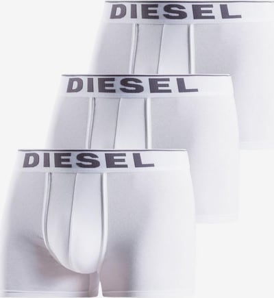 DIESEL Boxershorts 'Damien' in dunkelgrau / weiß, Produktansicht