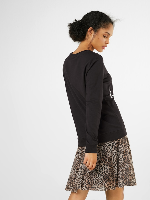 Sweat shirt 'sw En Junkie Weekend' Noir Catwalk kPXiOuTZ