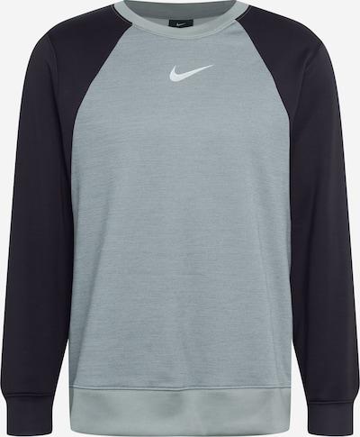 NIKE Sweatshirt in grau / schwarz, Produktansicht