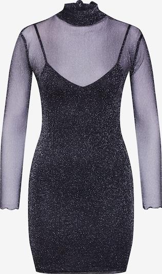 Worst Behavior Obleka 'Jetback glitter Dress' | črna barva, Prikaz izdelka