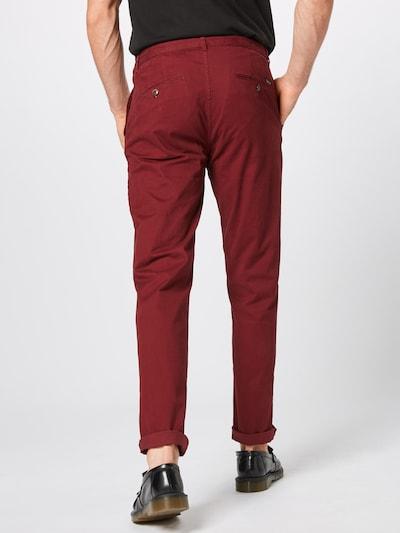 SCOTCH & SODA Pantalon chino 'Stuart' en rouge foncé: Vue de dos