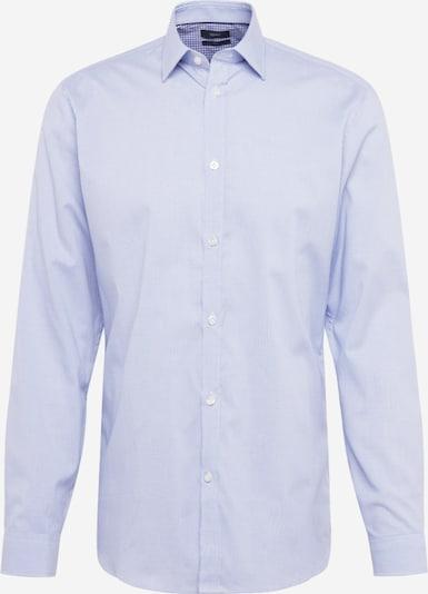 Esprit Collection Chemise business 'F bus check LS' en bleu clair, Vue avec produit