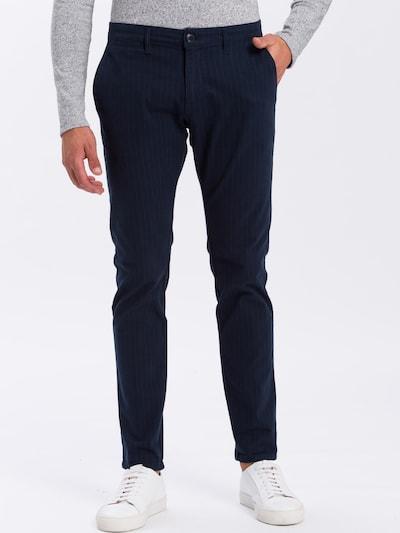 Cross Jeans Hosen ' E 120 ' in dunkelblau, Modelansicht