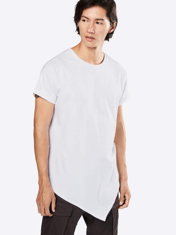 Urban Classics T-Shirt 'Asymetric Long Tee'