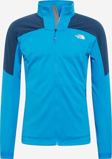 THE NORTH FACE Funktionele fleece-jas 'IMPENDOR' in de kleur Blauw / Lichtblauw / Wit, Productweergave