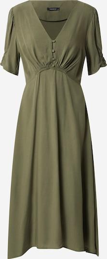 Trendyol Sukienka koszulowa w kolorze khakim: Widok z przodu