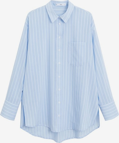 MANGO Hemd 'Jason' in pastellblau / weiß, Produktansicht