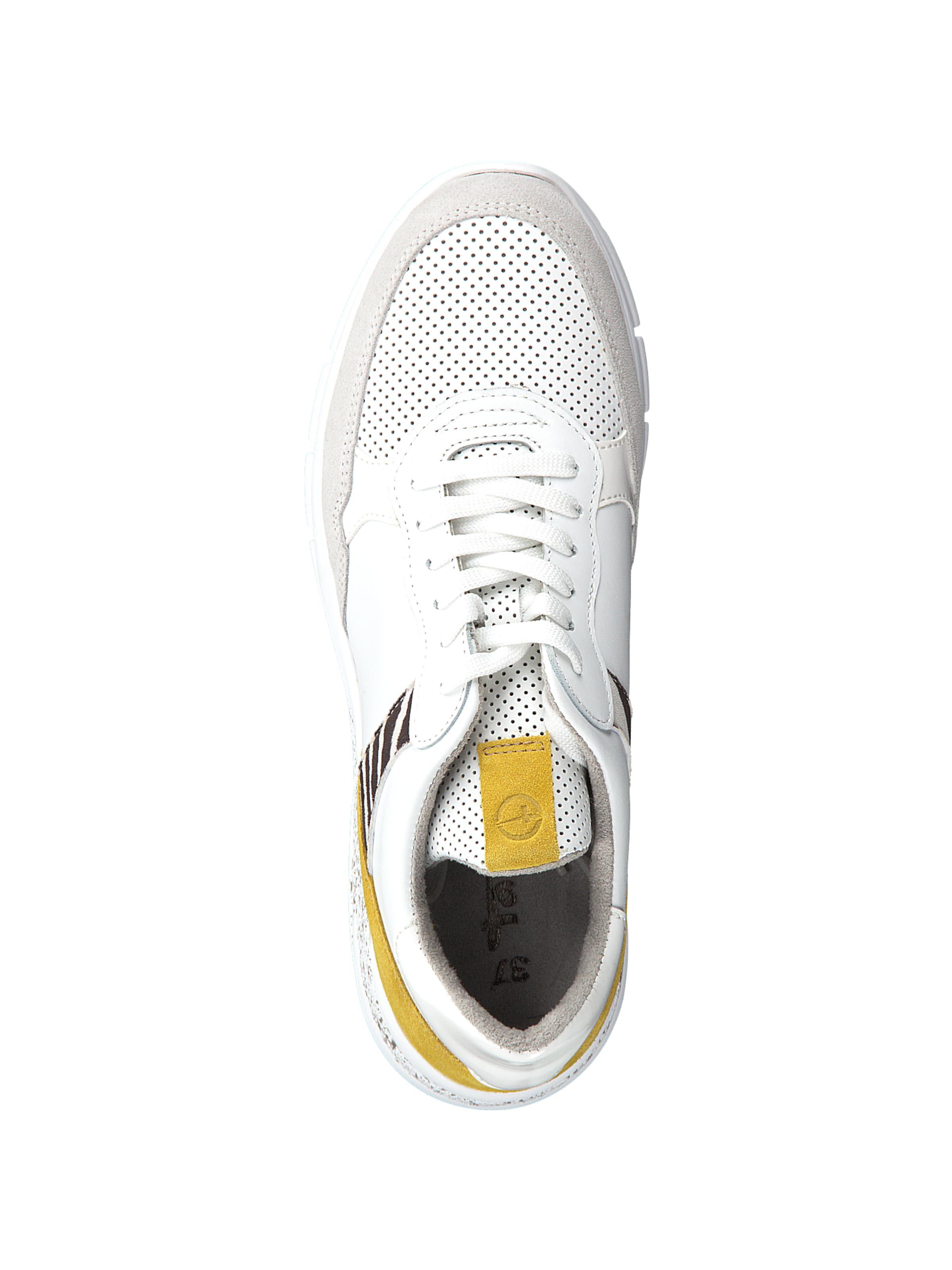 In Tamaris Sneaker Sneaker DunkelgelbWeiß Tamaris In Sneaker In DunkelgelbWeiß Tamaris DunkelgelbWeiß SLqzMVpjUG