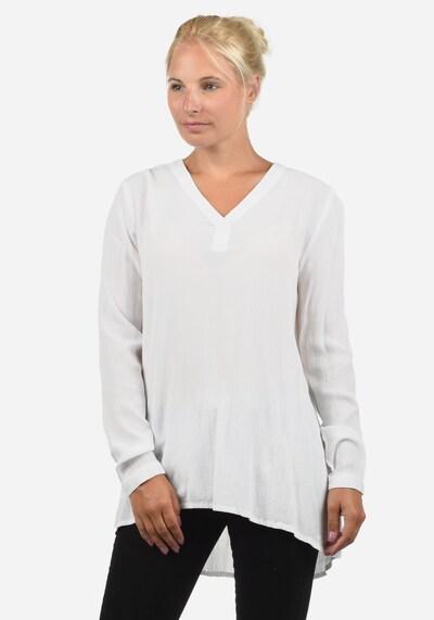 Blend She Schlupfbluse 'Creole' in weiß, Modelansicht