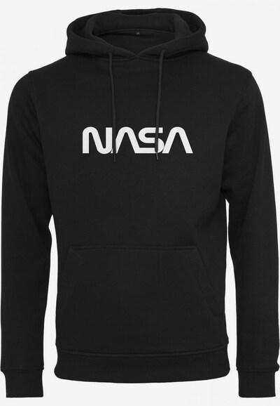 Mister Tee Sweatshirt ' Nasa Emb' in de kleur Zwart / Wit, Productweergave