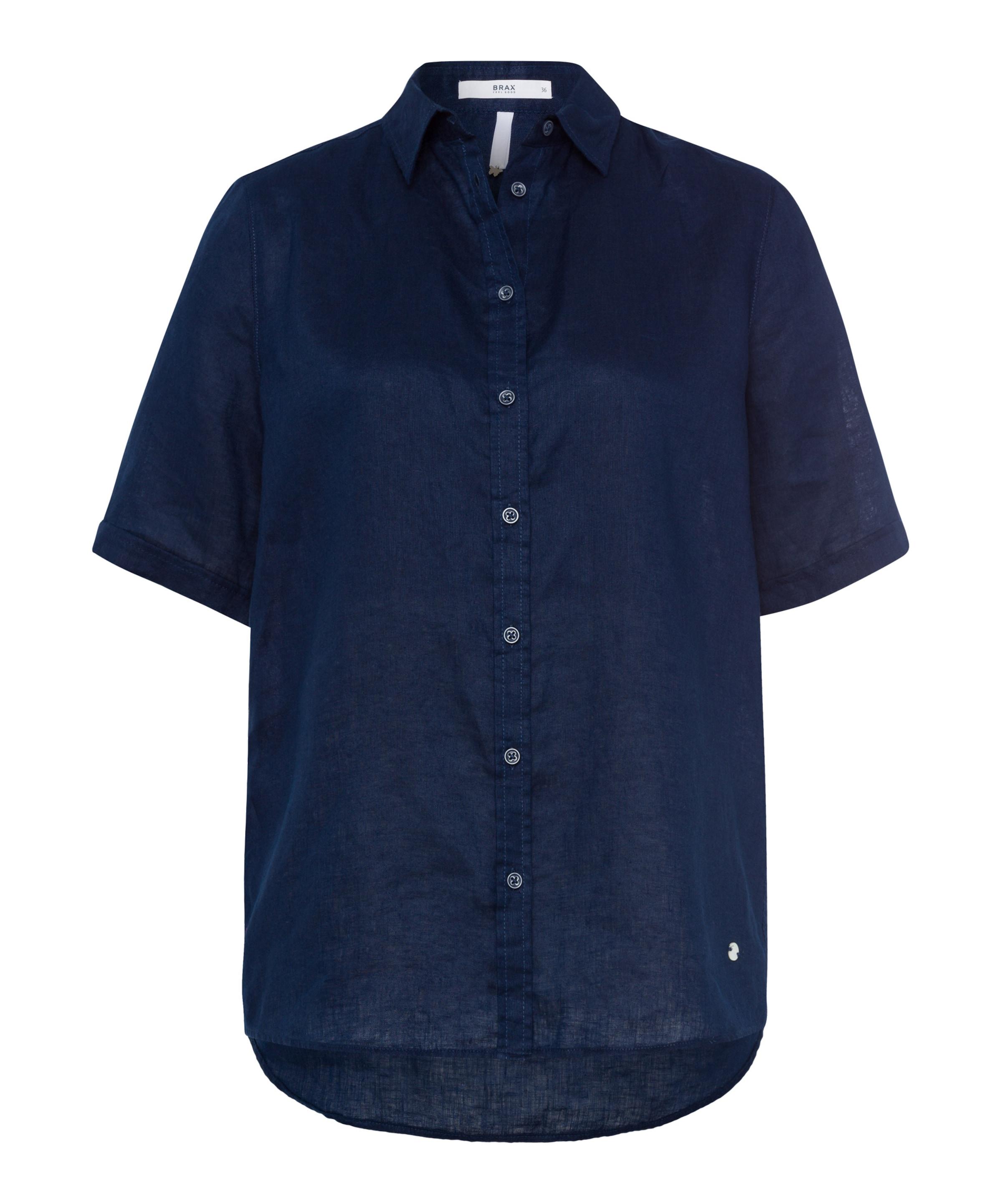 'viana' Brax Dunkelblau 'viana' In Dunkelblau Brax Bluse Bluse In Bluse Brax Y29beEWDIH