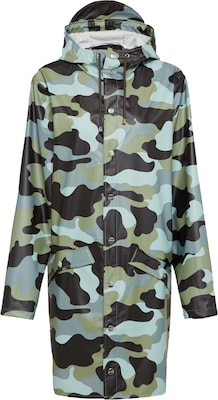 RAINS Regenmantel 'AOP Long Jacket'