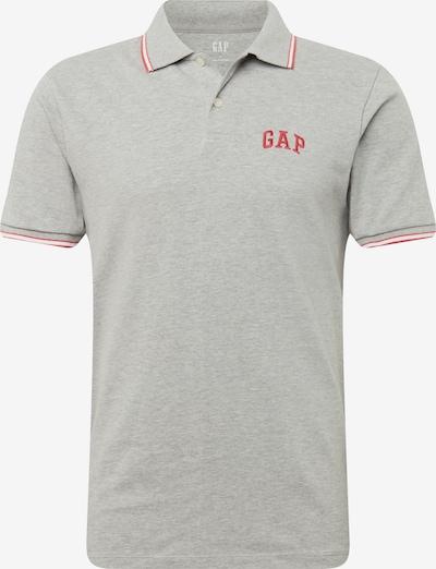 Marškinėliai 'FRANCH XLS PK POLO' iš GAP , spalva - margai pilka / raudona, Prekių apžvalga