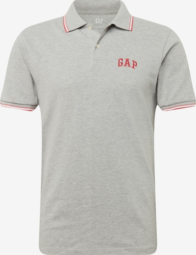 GAP Shirt 'FRANCH XLS PK POLO' in de kleur Grijs gemêleerd / Rood, Productweergave
