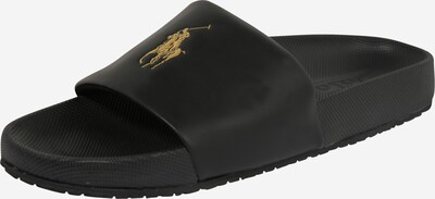 POLO RALPH LAUREN Mule 'CAYSON-SANDALS-CASUAL' in Gold / Black, Item view