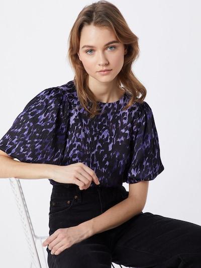 VERO MODA Bluse 'GILLEA' in indigo / kobaltblau, Modelansicht