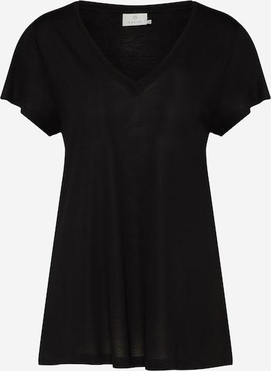 Kaffe T-Shirt 'Anna' in schwarz, Produktansicht
