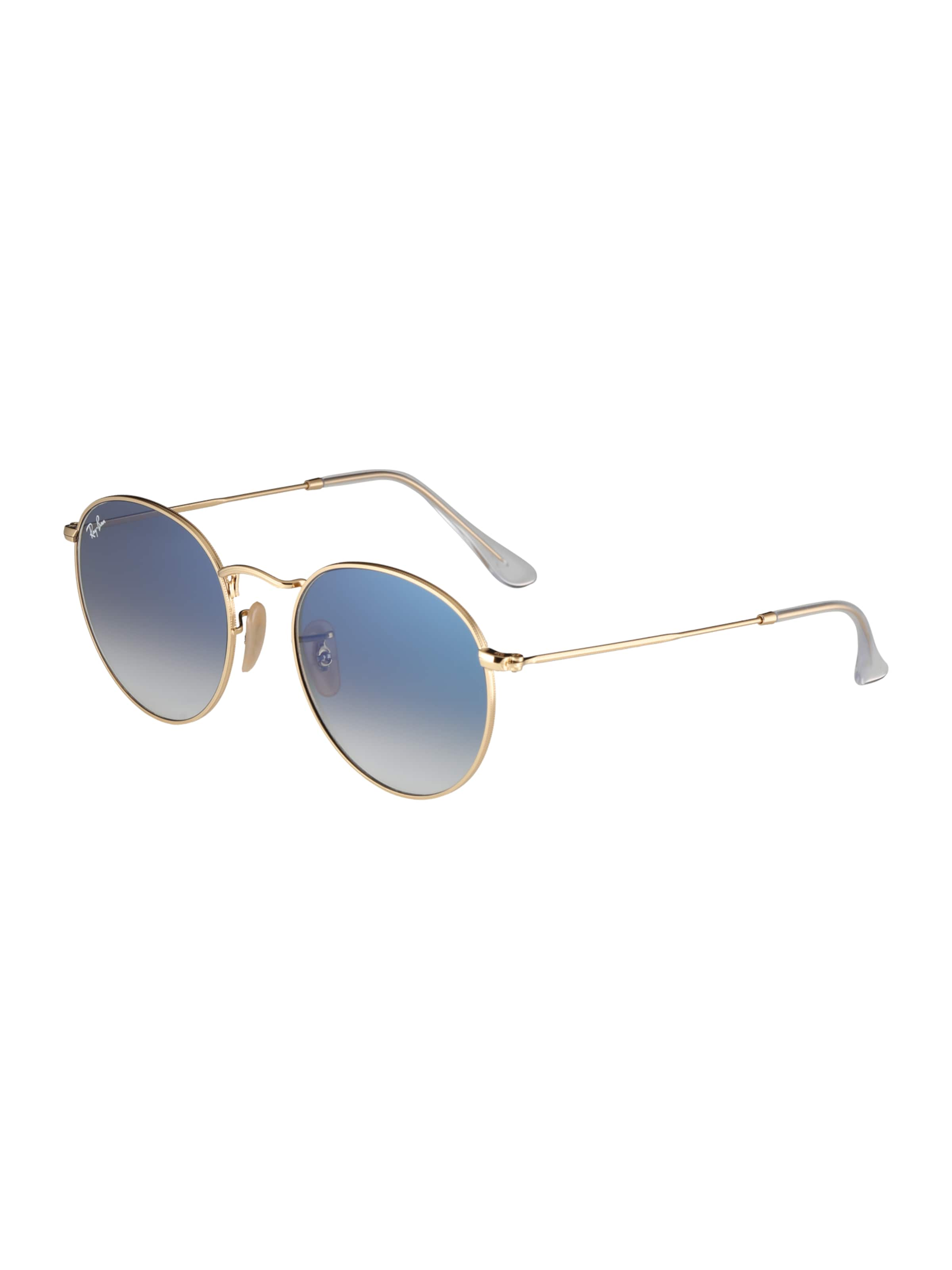 Ray ban Sonnenbrille GoldGrau In 'round' dhtxrsQC