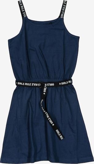 STACCATO Kleid in dunkelblau / schwarz / weiß, Produktansicht