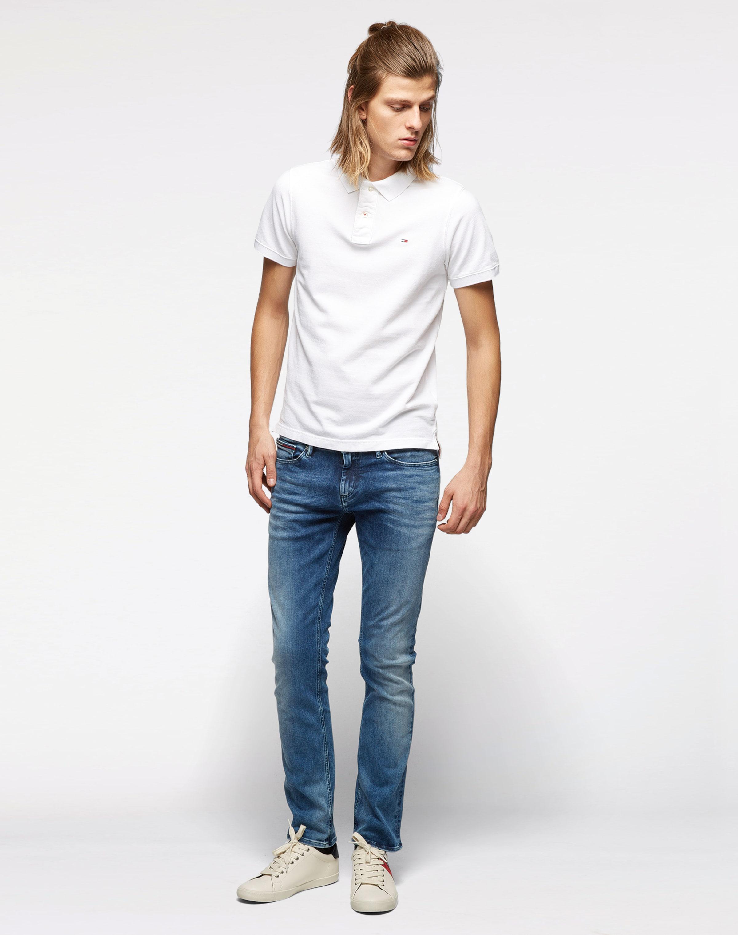 Ausgezeichnete Online-Verkauf Tommy Jeans Poloshirt Neuankömmling Verkauf Outlet-Store Spielraum Online Amazon Erschwinglich tNX10