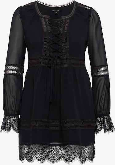 Tom Tailor Contemporary Tunika mit Spitzen-Details in schwarz, Produktansicht