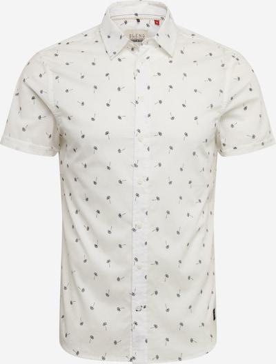 BLEND Srajca 'Shirt'   modra / off-bela barva, Prikaz izdelka