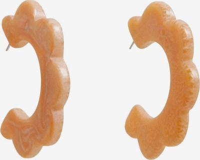 MANGO Boucles d'oreilles 'PENDIENTE DIXIE' en orange, Vue avec produit
