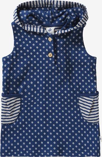 Leela COTTON Jerseykleid in blau / weiß, Produktansicht