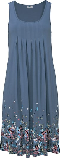 Vasarinė suknelė iš BEACH TIME , spalva - vandens spalva / melsvai pilka / raudona / juoda, Prekių apžvalga