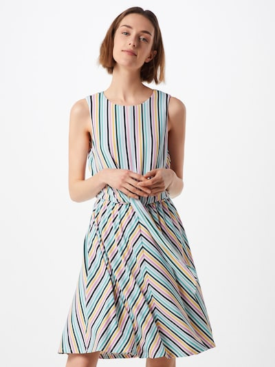 TOMMY HILFIGER Kleid 'Barbara Knot' in mischfarben, Modelansicht