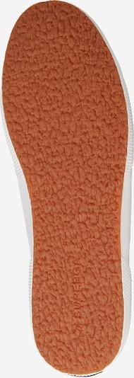 SUPERGA Niske tenisice u bijela: Pogled od ispod