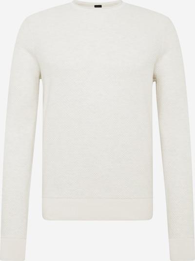 Pulover 'Komasro' BOSS pe alb, Vizualizare produs