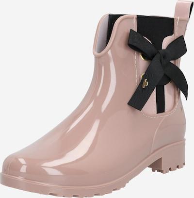 TOM TAILOR Gumijasti škornji | roza / črna barva, Prikaz izdelka