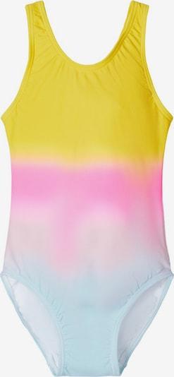 NAME IT Badeanzug in gelb / mischfarben, Produktansicht
