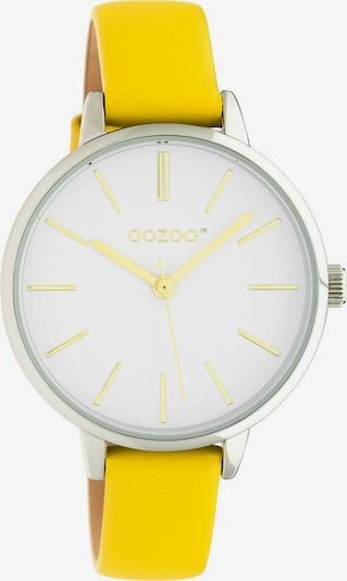 OOZOO Analoguhr 'JR312' in senf / silber / weiß, Produktansicht