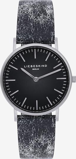 Liebeskind Berlin Montre à affichage analogique en noir / argent, Vue avec produit