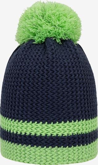 DÖLL Mütze in nachtblau / hellgrün, Produktansicht