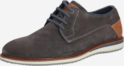 BULLBOXER Čevlji na vezalke | rjava / temno siva barva, Prikaz izdelka