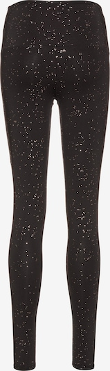 Onzie Tights 'Yoga' in gold / schwarz, Produktansicht