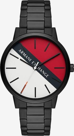 ARMANI EXCHANGE Uhr in rot / schwarz, Produktansicht