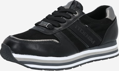 TOM TAILOR Niske tenisice u siva / crna / bijela, Pregled proizvoda