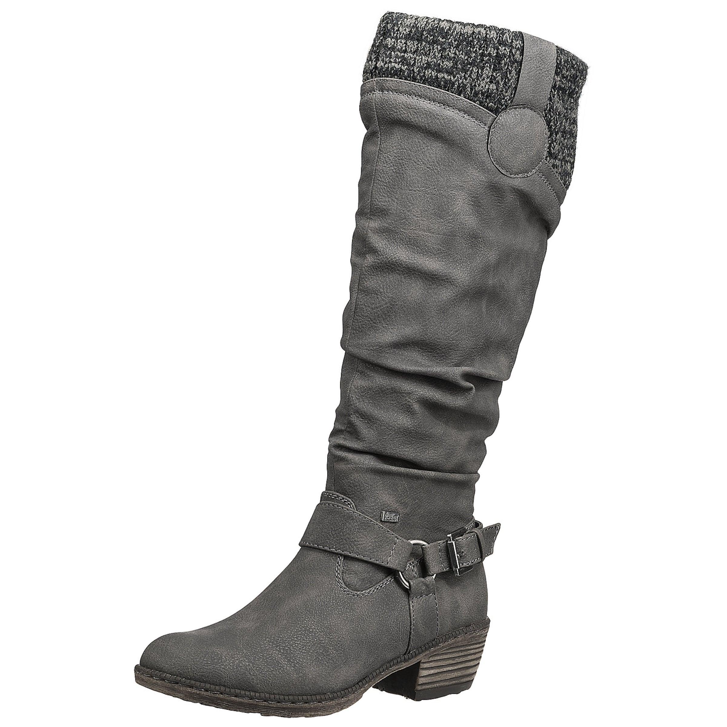 RIEKER Stiefel Verschleißfeste billige Schuhe Hohe Qualität