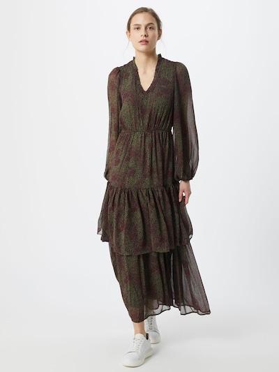 VERO MODA Kleid 'CASSIE' in grün / burgunder, Modelansicht