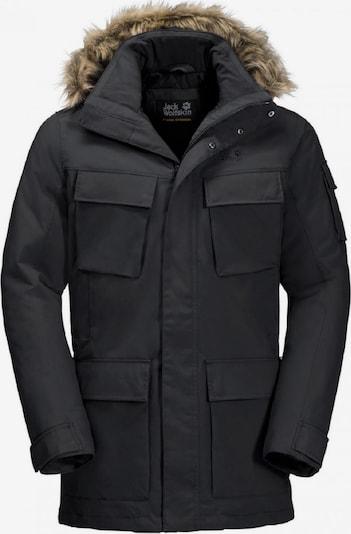 JACK WOLFSKIN Outdoorjas 'Glacier Canyon' in de kleur Zwart, Productweergave