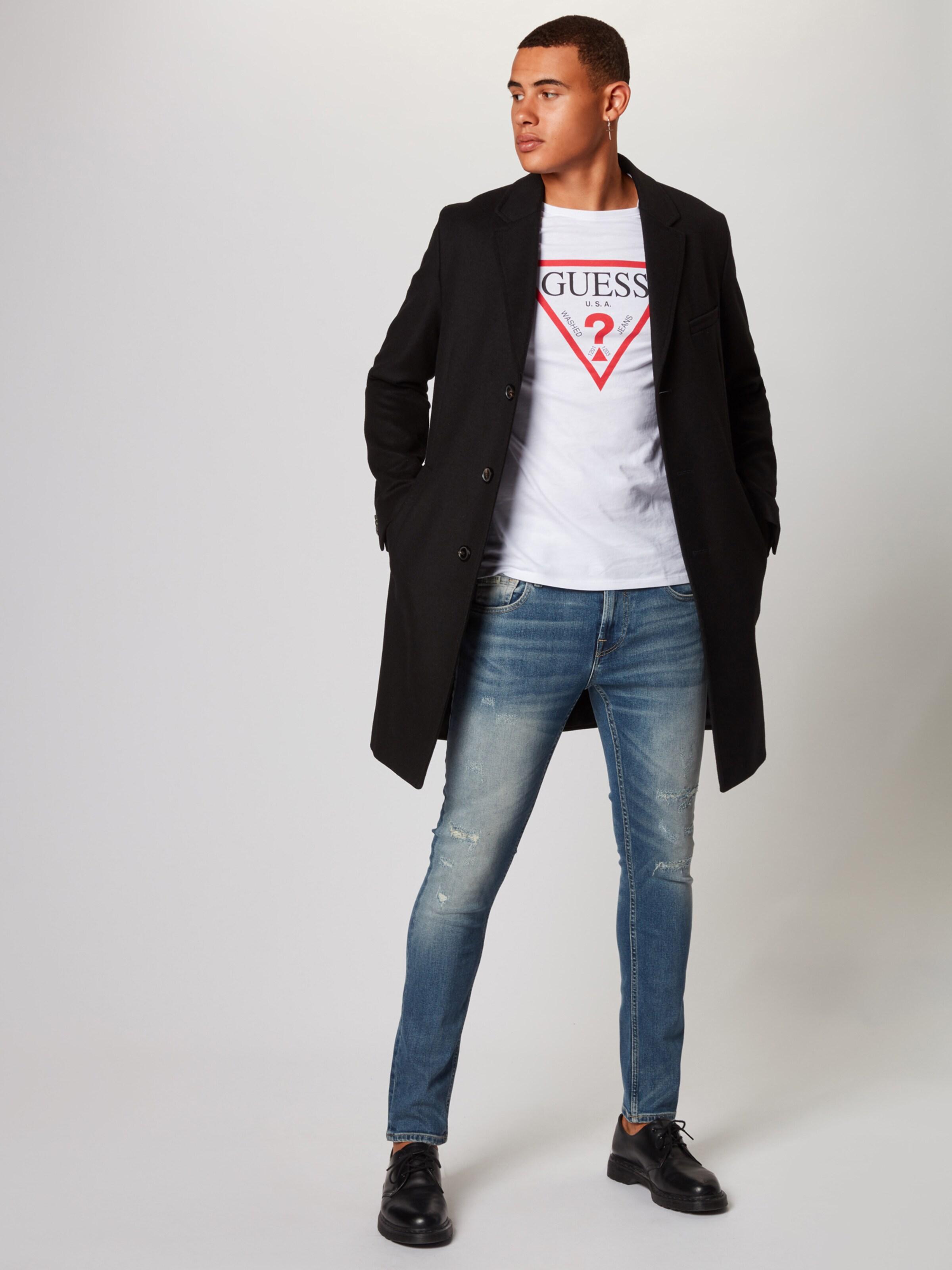 Guess Blue Denim 'miami' Jeans In zVUMSp