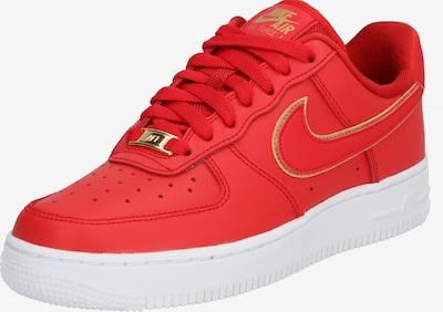 Nike Sportswear Sneakers laag 'Air Force 1 '07 Essential' in de kleur Rood, Productweergave
