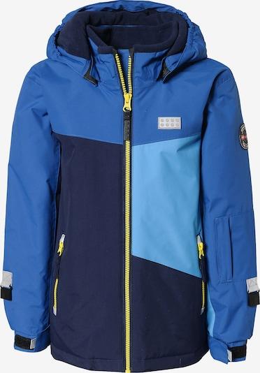 LEGO WEAR Skijacke in blau / nachtblau / hellblau / gelb / hellgrau, Produktansicht