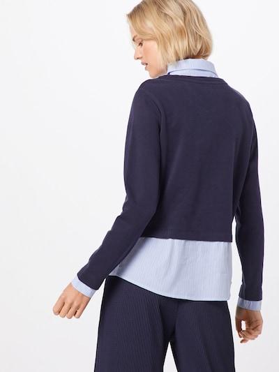 ONLY Sweatshirt 'ffally' in de kleur Nachtblauw: Achteraanzicht