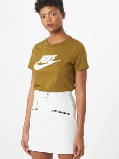 Nike Sportswear T-shirt 'Futura' en olive: Vue de face